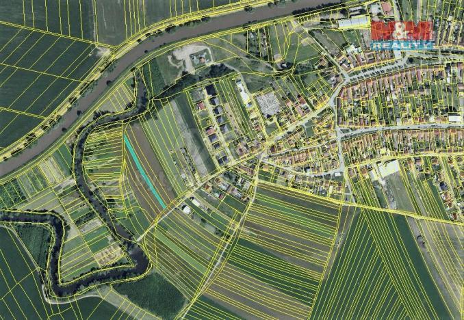 Prodej zemědělské půdy, Uherčice, 574 m2